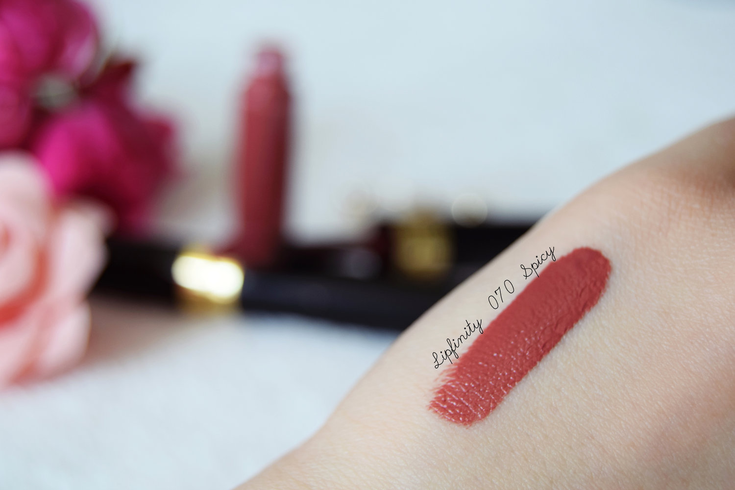 Organic Beauty Products >> Lipfinity Max Factor review – Zalabell