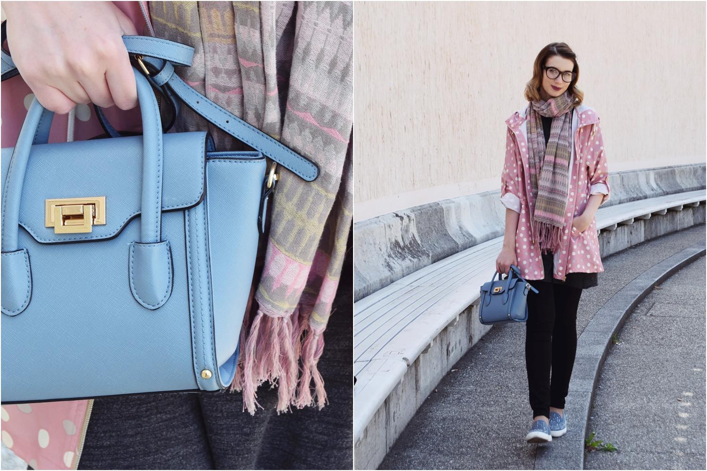 Fashion_cute_pink_dots_raincoat_Zalabell_2