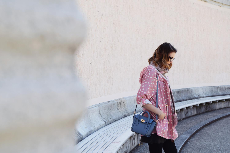 Fashion_cute_pink_dots_raincoat_Zalabell_3