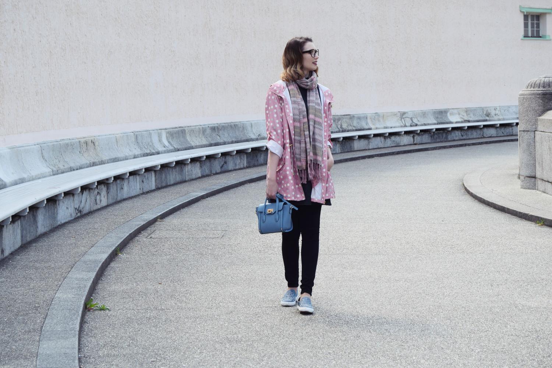 Fashion_cute_pink_dots_raincoat_Zalabell_5