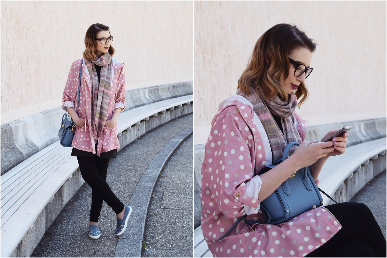 Fashion_cute_pink_dots_raincoat_Zalabell_7