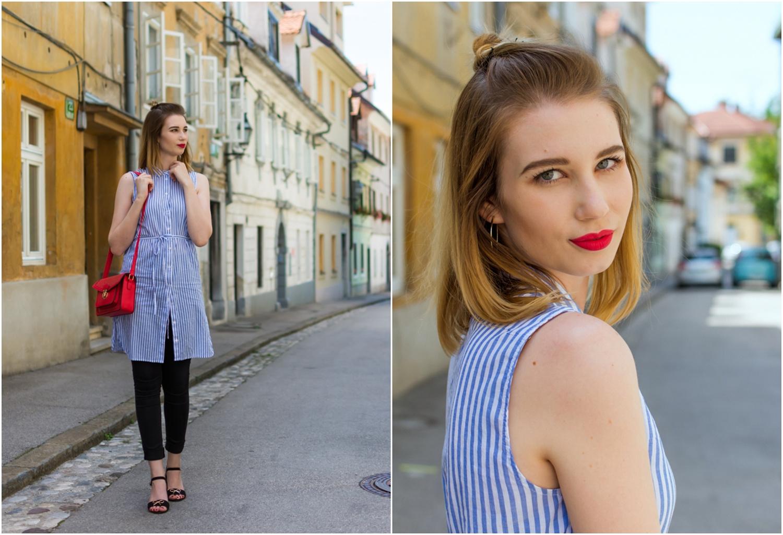Zalabell_fashion_summer_blue_shirt_red_bag_6