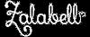 Zalabell logo white small