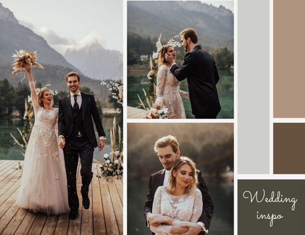 poroka, wedding, nevesta, inspo, bride, jezero jasna, zala zagoricnik, kranjska gora, outside