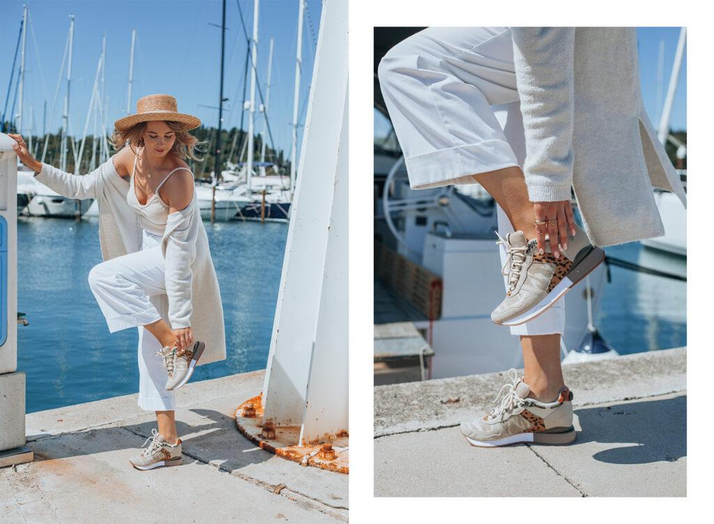 Gioseppo shoes, summer, seaside outfit, Zala zagoricnik, Zalabell