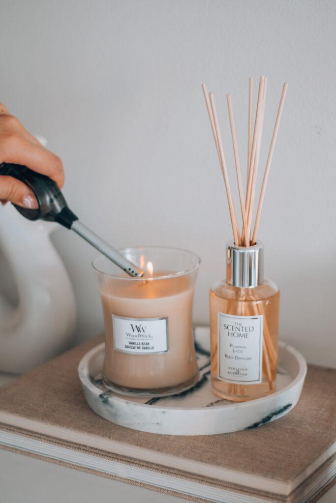 poletne dišave za dom, dekoracija, dišeča sveča, candles, notino